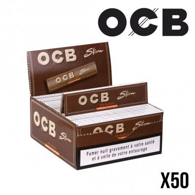 OCB VIRGIN PAPER SLIM PAR 50