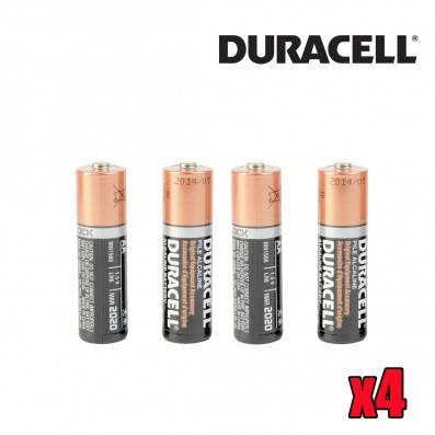 PILES DURACELL AA/LR06 X4