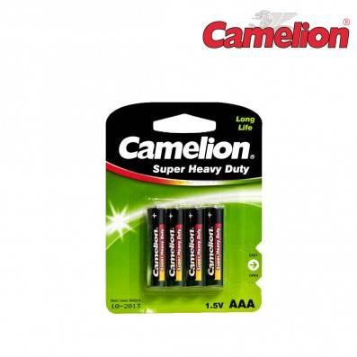 PILES CAMELION PLUS AAA/LR03 PAR 4