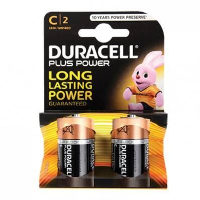 PILES DURACELL LR14 / C