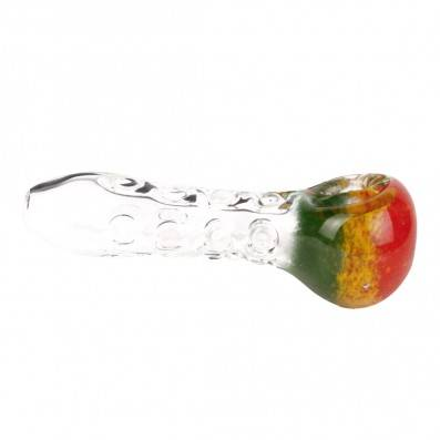 PIPE EN VERRE RASTA BUBBLE