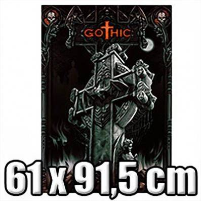 POSTER GOTHIC CROSS
