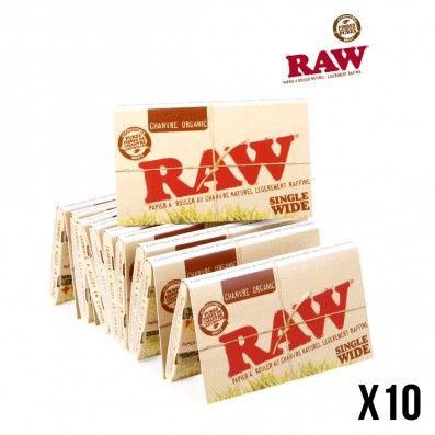 .RAW ORGANIC REGULAR X10