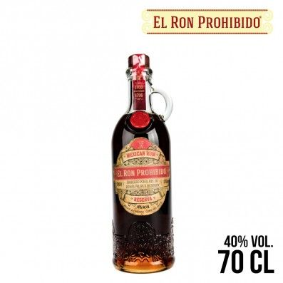 RHUM RON PROHIBIDO 70CL