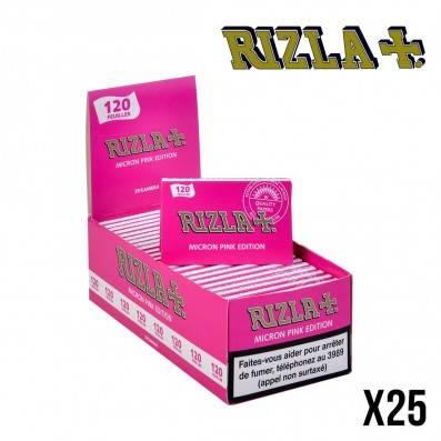 RIZLA REGULAR PINK DOUBLE X25