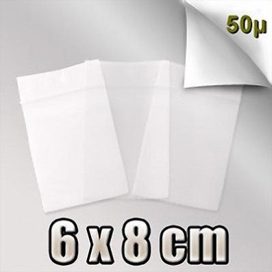 SACHET ZIP 50 MICRONS 6x8 CM