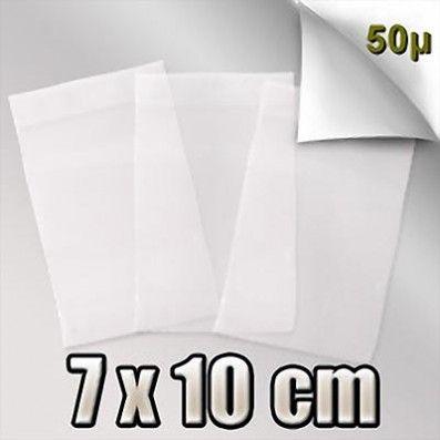 SACHET ZIP 50 MICRONS 7x10 CM