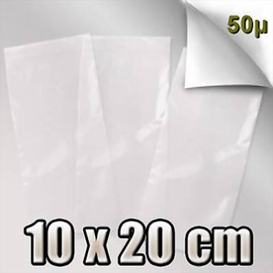SACHET ZIP 50 MICRONS 10x20 CM
