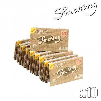 SMOKING ORGANIC REGULAR X10