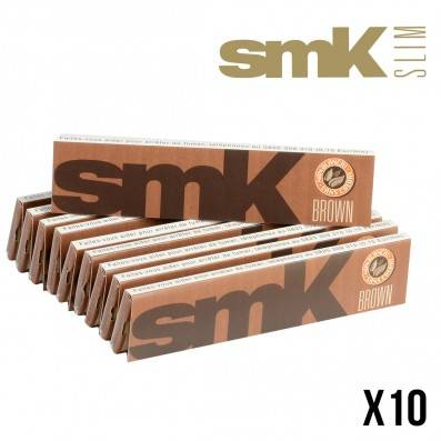 SMOKING SMK SLIM BROWN X10