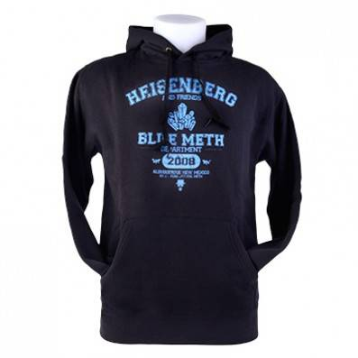 SWEAT SHIRT BREAKING BAD DEPARTMENT NOIR