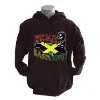 SWEAT SHIRT JAMAICA RASTA DREAM