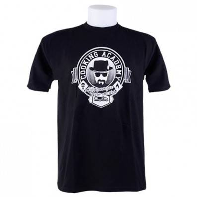 T-SHIRT BREAKING BAD COOKING ACADEMY