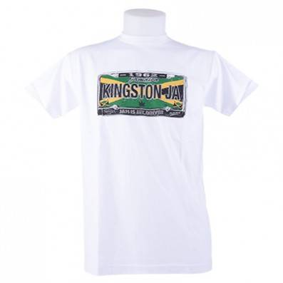 T-SHIRT CAPTAIN JAMAICA KINGSTON LICENSE
