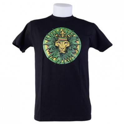T-SHIRT LION OF JUDAH LEAF