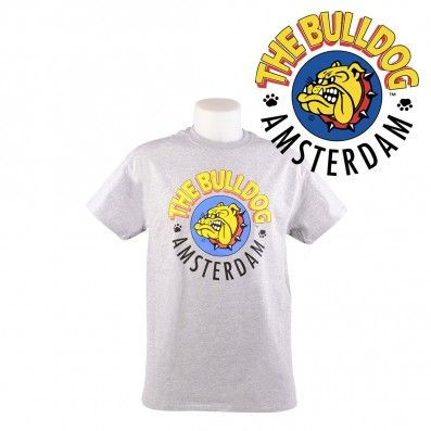 T-SHIRT THE BULLDOG GRIS