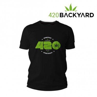T-SHIRT 420 EVERYDAY BLACK