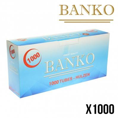 TUBE A CIGARETTE BANKO 1000