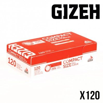 TUBES A CIGARETTES GIZEH COMPACT SIZE
