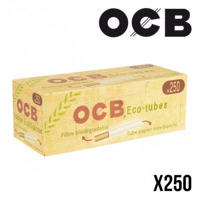 TUBE A CIGARETTE OCB 250 NON BLANCHIS