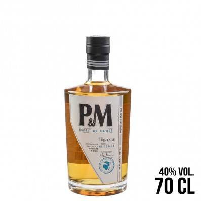 WHISKY CORSE P&M 70CL