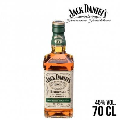 WHISKY JACK DANIELS TENNESSEE RYE 70CL