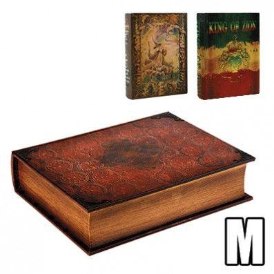 WOOD BOOK MEDIUM KAVATZA