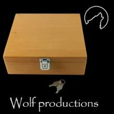SPLIFF BOX DELUXE XL WOLF PRODUCTIONS
