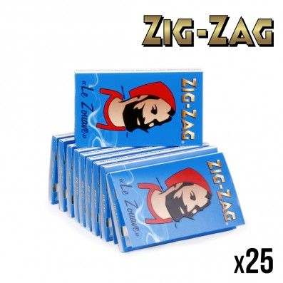 ZIG ZAG LE ZOUAVE BLEU X25
