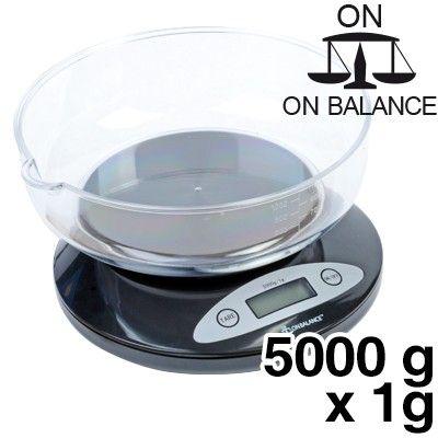 Balance de cuisine kb 5000 balance de table capacit 5000g for Cuisine 5000