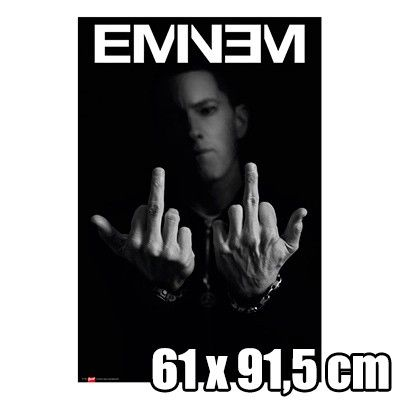 poster eminem poster eminem format 61 x 91 5 cm. Black Bedroom Furniture Sets. Home Design Ideas