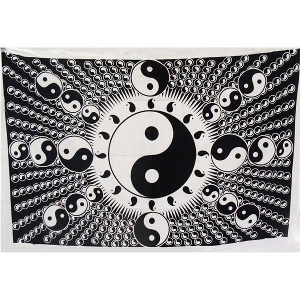 Acheter tenture multi yin yang achat en ligne de tenture for Deco yin yang