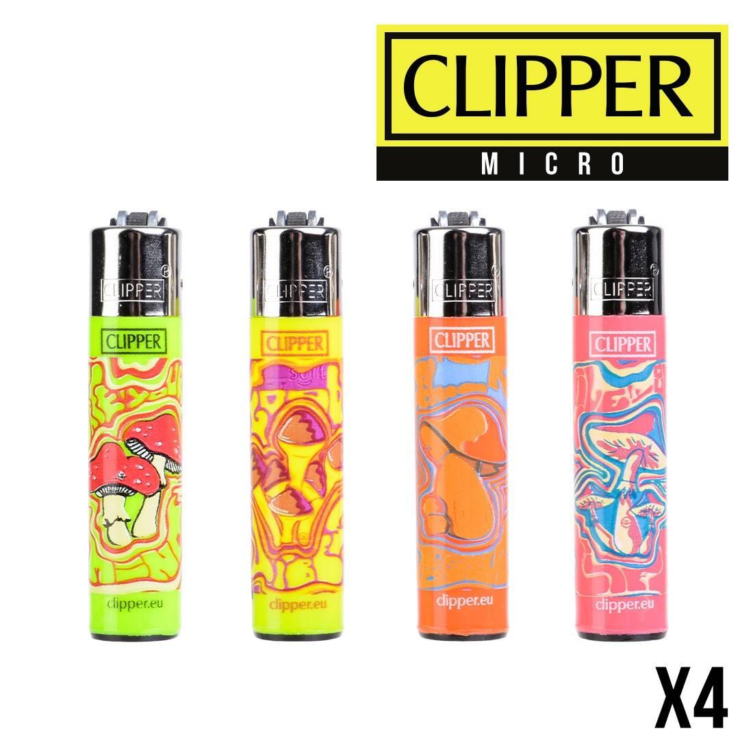 MICRO CLIPPER MUSH X4