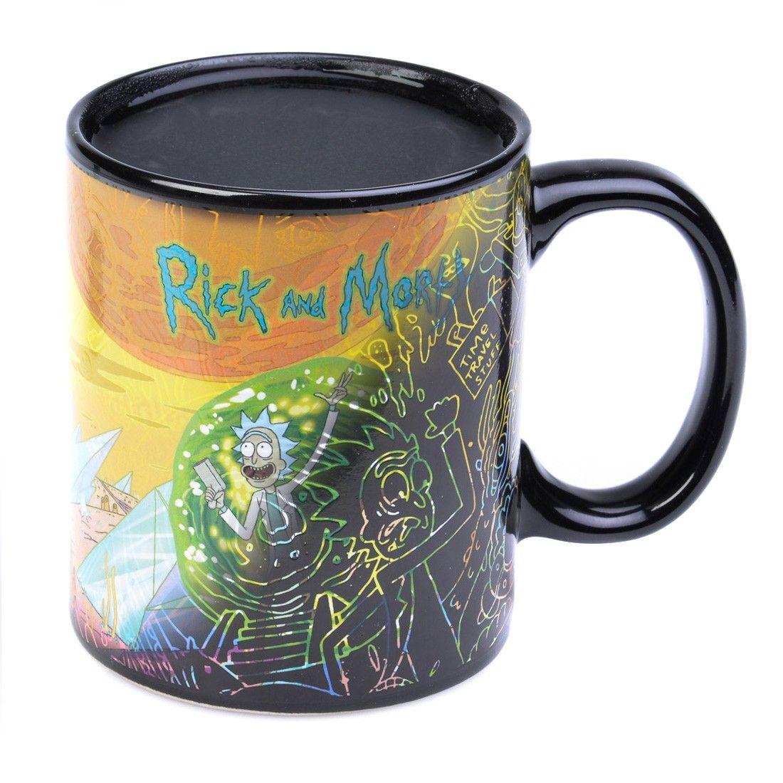 Mug Sur S Rickamp; Factory Thermoreactif Morty PortalsDisponible n80mNvw