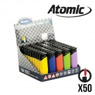 BRIQUET ATOMIC TURBO LED X50