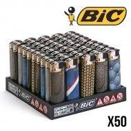 BRIQUETS BIC ELECTRONIQUES MATERIAL X50