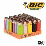BRIQUET BIC MINI COLOR X50