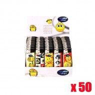 BRIQUET PHOSPHORESCENT SMILEY X50