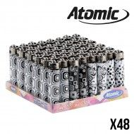BRIQUET ATOMIC BLACK & WHITE X48