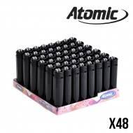 BRIQUET ATOMIC BLACK X48