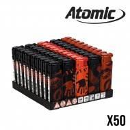 BRIQUET ATOMIC DECOR BODY X50