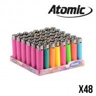 BRIQUET ATOMIC PIERRE NEON X48