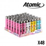 BRIQUET ATOMIC SMOKING HORROR X48