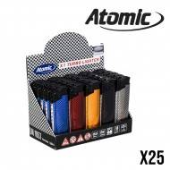 BRIQUET ATOMIC TURBO CARBONE X25