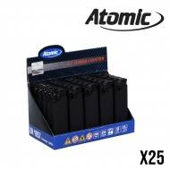 BRIQUET ATOMIC TURBO SOFT BLACK X25