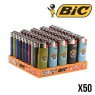 BRIQUET BIC MINI THE BULLDOG AMSTERDAM X50