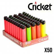 BRIQUET CRICKET FLUO X50