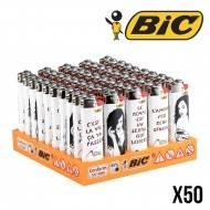 BRIQUETS BIC MISS TIC X50
