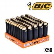 BRIQUETS BIC BLACK AND GOLD X50