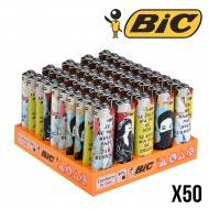 BRIQUETS BIC MISS TIC COLOR X50